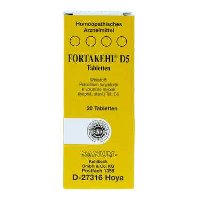 Fortakehl D5 Tabletten  bei apo-discounter.de bestellen