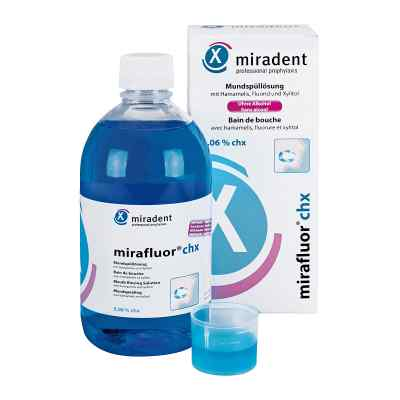 Miradent Mundspüllösung mirafluor chx 0,06% bei apo-discounter.de bestellen