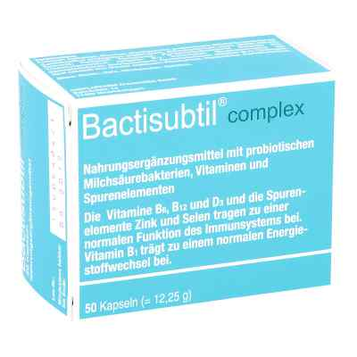 Bactisubtil Complex Kapseln  bei apo-discounter.de bestellen