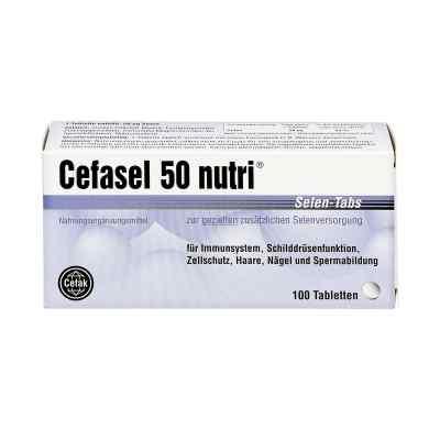Cefasel 50 nutri Selen Tabs Tabletten  bei apo-discounter.de bestellen