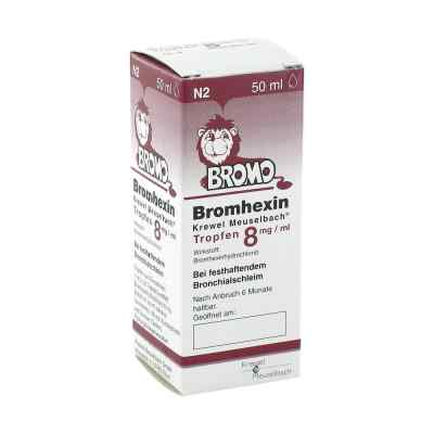 Bromhexin Krewel Meuselbach 8mg/ml