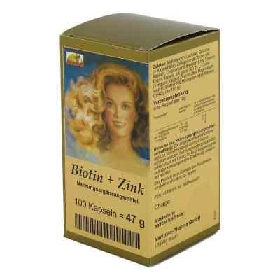 Biotin Plus Zink Haarkapseln  bei apo-discounter.de bestellen