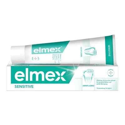 Elmex Sensitive Zahnpasta mit Faltsch.
