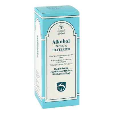 Alkohol 70% V/v Hetterich  bei apo-discounter.de bestellen