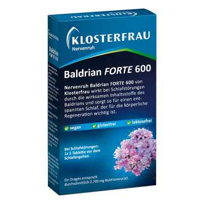 Nervenruh Baldrian Forte 600  bei apo-discounter.de bestellen