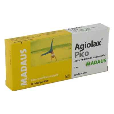 Agiolax Pico Madaus Abführ-Lutschpastillen