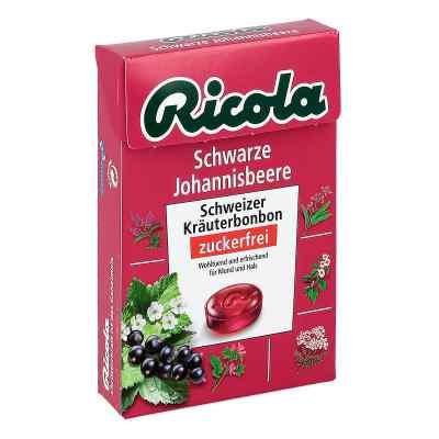 Ricola ohne Zucker  Box Schwarze Johannisbeere Bonbons