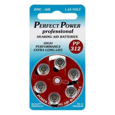 Batterien für Hörgeräte Power Pp 312  bei apo-discounter.de bestellen