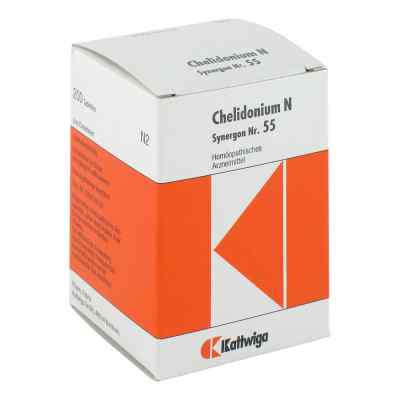 Synergon 55 Chelidonium N Tabletten  bei apo-discounter.de bestellen
