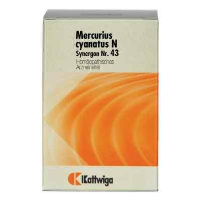 Synergon 43 Mercurius cyanatus N Tabletten  bei apo-discounter.de bestellen