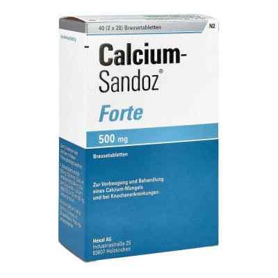 Calcium-Sandoz forte 500mg  bei apo-discounter.de bestellen