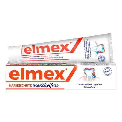 Elmex mentholfrei Zahnpasta mit Faltschachtel