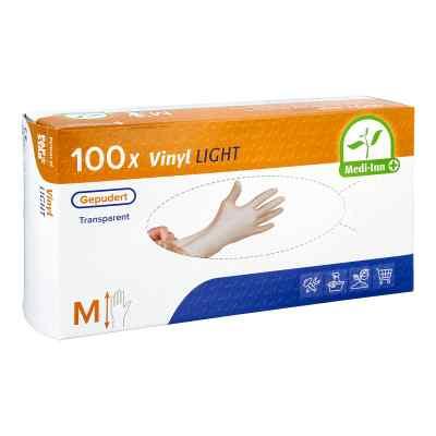 Medi Inn Vinyl Gepudert Einmalhandschuhe Größe M  bei apo-discounter.de bestellen