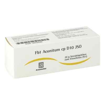Jso Jkh Fiebermittel Fb 1 Aconitum cp D 10 Globuli