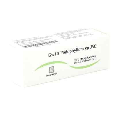 Jso Jkh Gewebemittel Gw 10 Podophyllum cp Globuli  bei apo-discounter.de bestellen