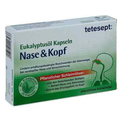 Tetesept Eukalyptusöl Kapseln Nase & Kopf  bei apo-discounter.de bestellen