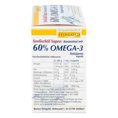 Seefischöl Supra mit 60% Omega-3-fetts.weichkaps.  bei apo-discounter.de bestellen