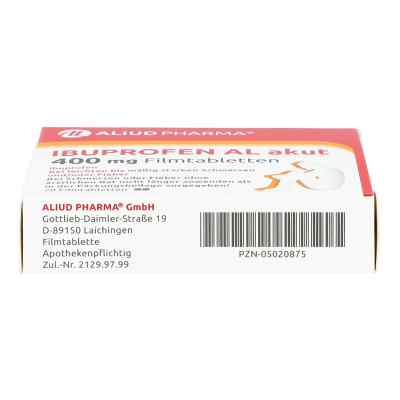 Ibuprofen AL akut 400mg  bei apo-discounter.de bestellen