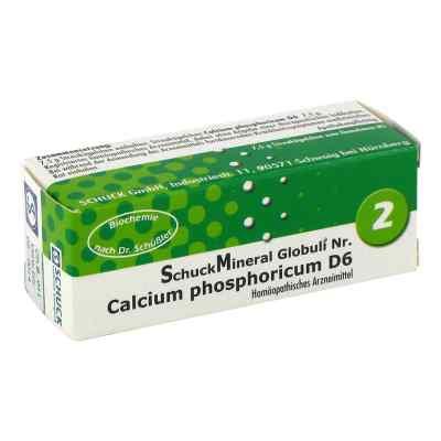 Schuckmineral Globuli 2 Calcium phosphoricum D6  bei apo-discounter.de bestellen