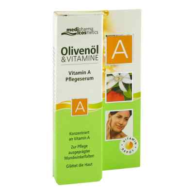 Olivenöl & Vitamin A Pflegeserum  bei apo-discounter.de bestellen