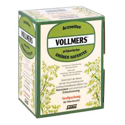 Vollmers präparierter grüner Hafertee Filterbeutel  bei bioapotheke.de bestellen