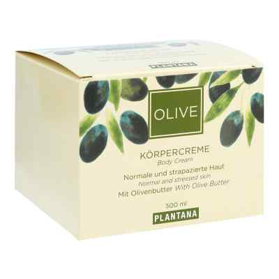 Plantana Olive Butter Körper Creme  bei apo-discounter.de bestellen
