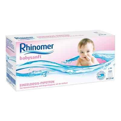 Rhinomer babysanft Meerwasser 5ml Einzeldosispipetten   bei apo-discounter.de bestellen