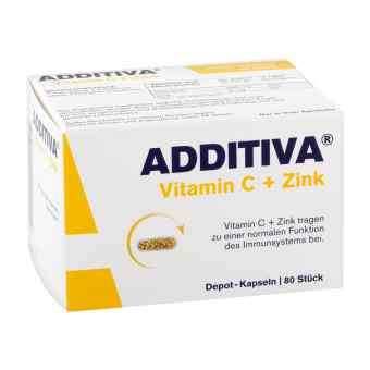 Additiva Vitamin C+zink Depotkaps.aktionspackung  bei apo-discounter.de bestellen