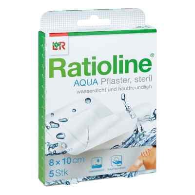 Ratioline aqua Duschpflaster Plus 8x10 cm steril  bei apo-discounter.de bestellen