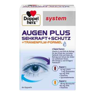 Doppelherz Augen plus Sehkraft+schutz system Kapsel (n)