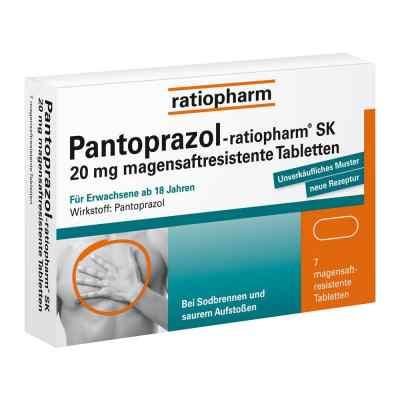 Pantoprazol-ratiopharm SK 20mg  bei apo-discounter.de bestellen