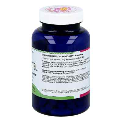 Mariendistel 500 mg Gph Kapseln  bei apo-discounter.de bestellen