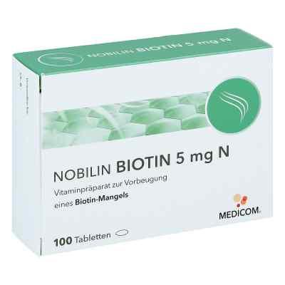 Nobilin Biotin 5 mg N Tabletten  bei bioapotheke.de bestellen