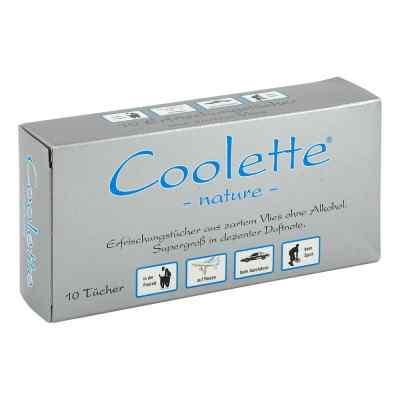 Coolette Nature Erfrischungstücher Vlies  bei apo-discounter.de bestellen
