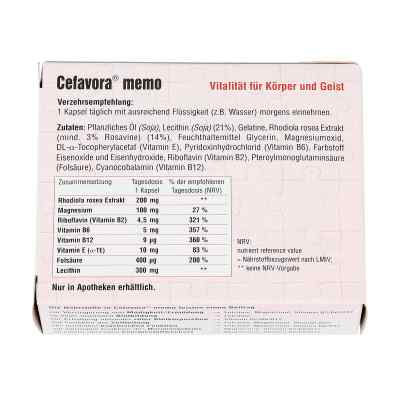 Cefavora memo Weichgelatinekapseln  bei apo-discounter.de bestellen