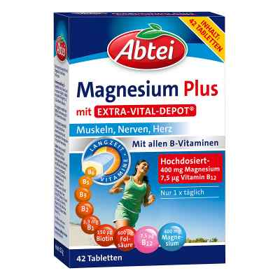 Abtei Magnesium Plus mit Extra Vital Depot Tabletten  bei apo-discounter.de bestellen