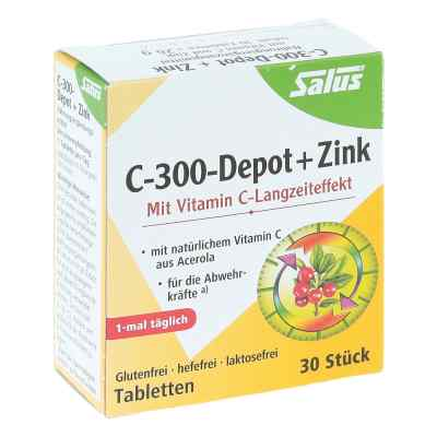 C 300-depot + Zink Salus Tabletten  bei apo-discounter.de bestellen
