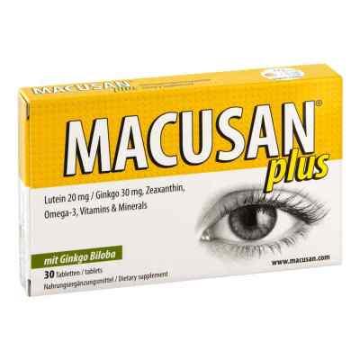 Macusan plus Tabletten  bei apo-discounter.de bestellen