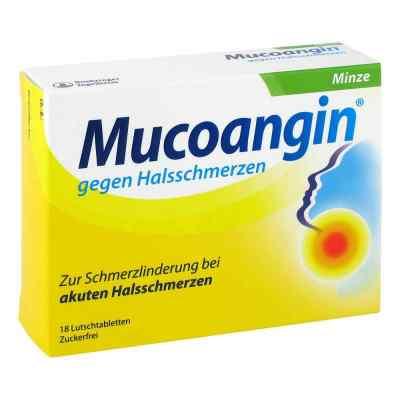 Mucoangin gegen Halsschmerzen Minze
