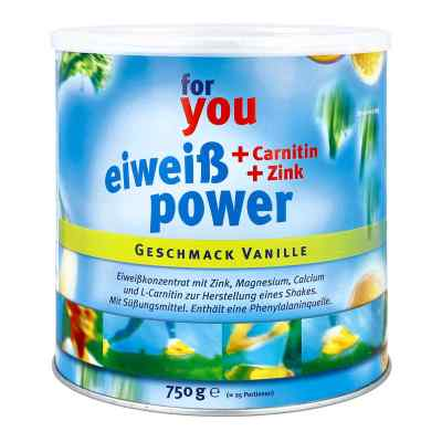 For You Eiweiss Power Vanille  bei apo-discounter.de bestellen