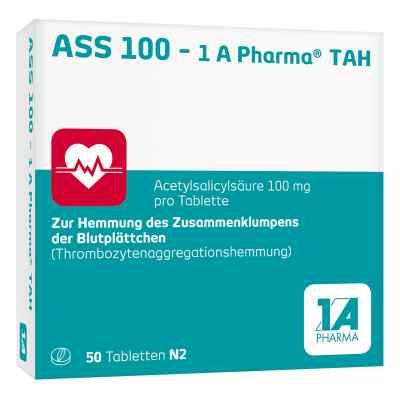 ASS 100 - 1A Pharma TAH