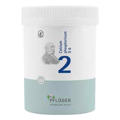 Biochemie Pflüger 2 Calcium phosphoricum D  6 Tabletten  bei bioapotheke.de bestellen
