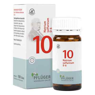 Biochemie Pflüger 10 Natrium Sulfur D  6 Tabletten  bei apo-discounter.de bestellen