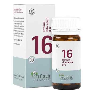 Biochemie Pflüger 16 Lithium chloratum D6 Tabletten  bei apo-discounter.de bestellen