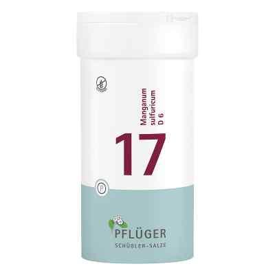Biochemie Pflüger 17 Manganum Sulfur D6 Tabletten  bei apo-discounter.de bestellen