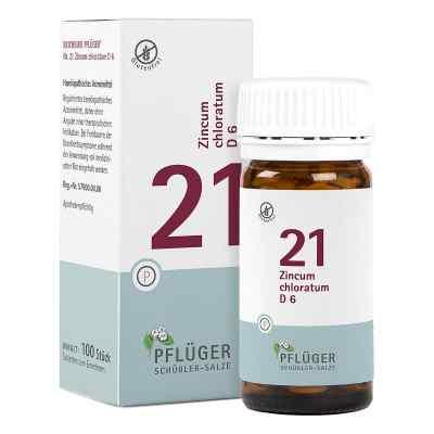 Biochemie Pflüger 21 Zincum chloratum D6 Tabletten  bei apo-discounter.de bestellen