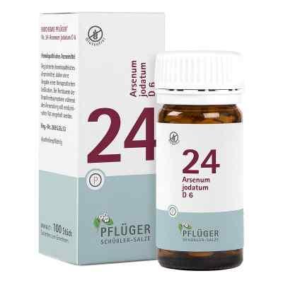 Biochemie Pflüger 24 Arsenum jodatum D6 Tabletten  bei apo-discounter.de bestellen