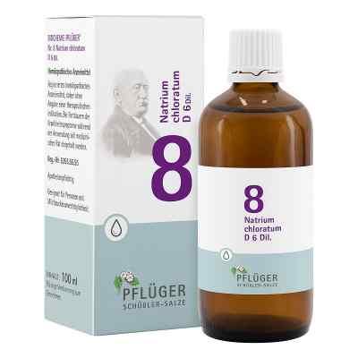 Biochemie Pflüger 8 Natrium chloratum D6 Tropfen  bei apo-discounter.de bestellen