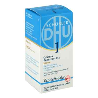 Biochemie Dhu 1 Calcium fluorat.D 12 Karto Tabletten
