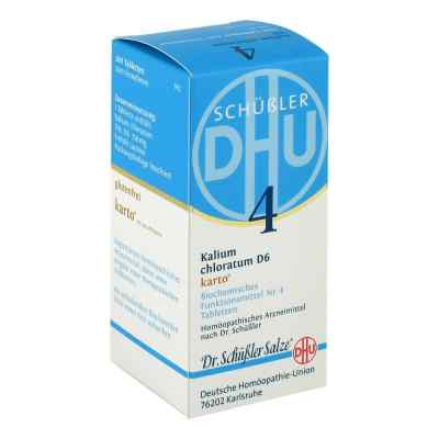 Biochemie Dhu 4 Kalium chlorat. D 6 Karto Tabletten